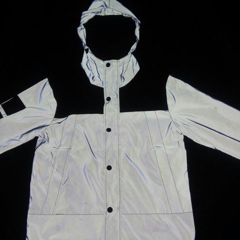 c9f4a85c Ветровка The North Face x Supreme светоотражающая. – купить в Барнауле,  цена 1 600 руб., продано 1 ноября 2017 – Верхняя одежда