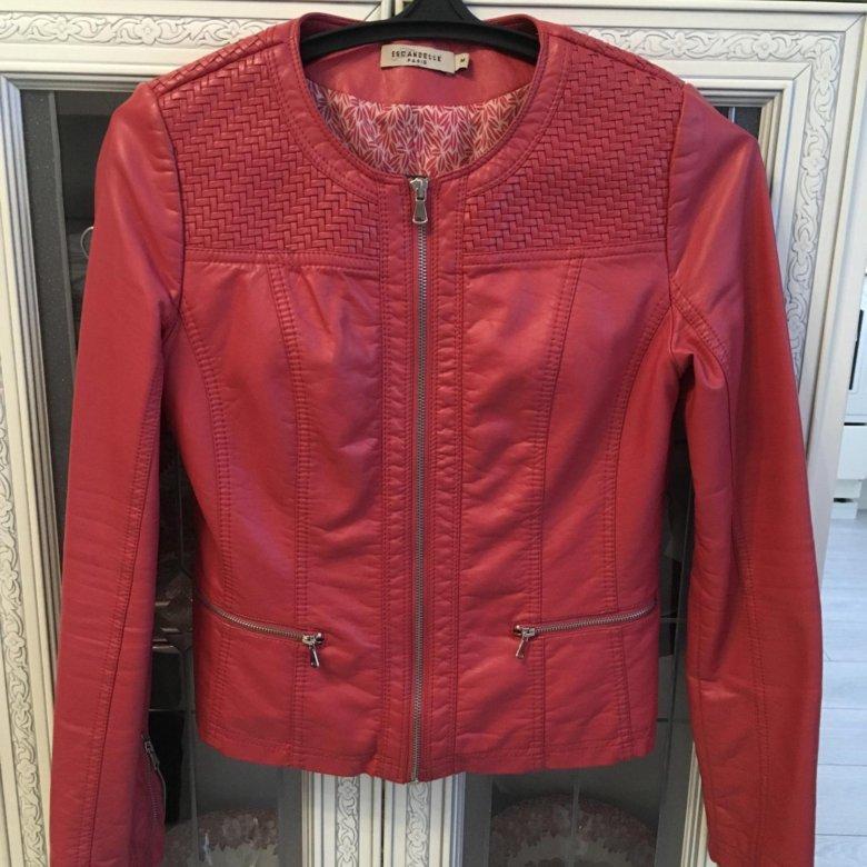 ded29517822 Красная кожаная куртка - косуха – купить в Москве