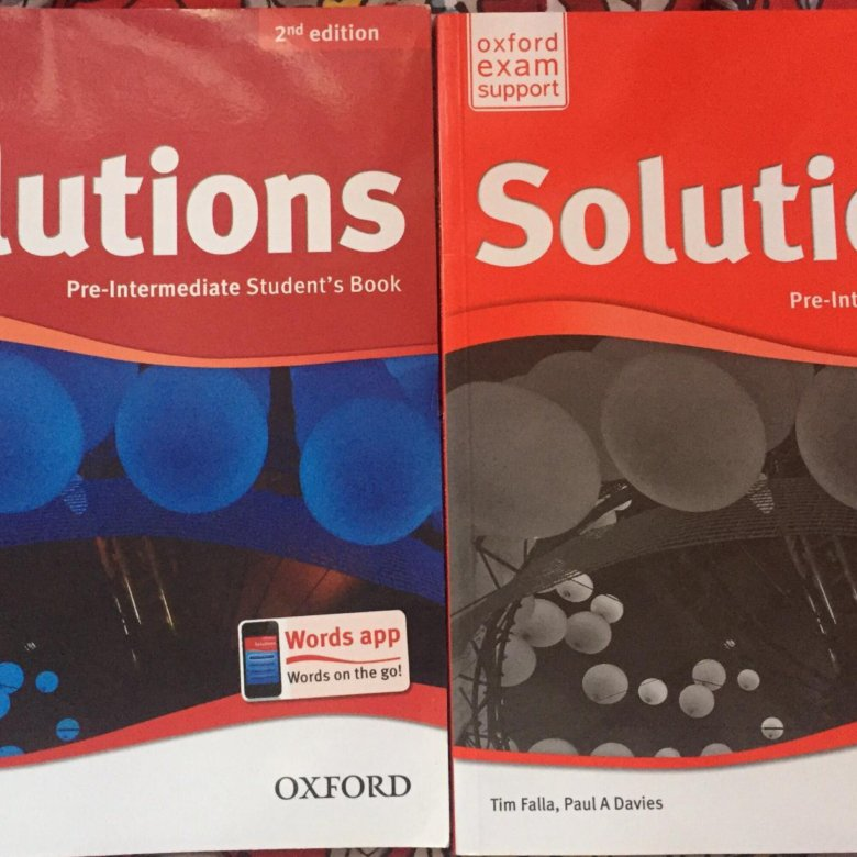 учебник solutions pre-intermediate гдз