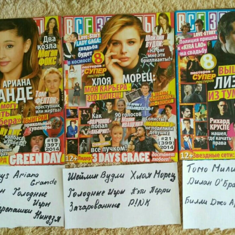 Журнал с постерами в россии