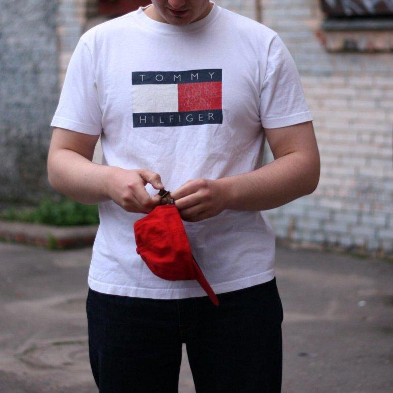 Vintage T-Shirt Tommy Hilfiger Big Logo – купить в Санкт-Петербурге ... c4bad0ea6e0e6