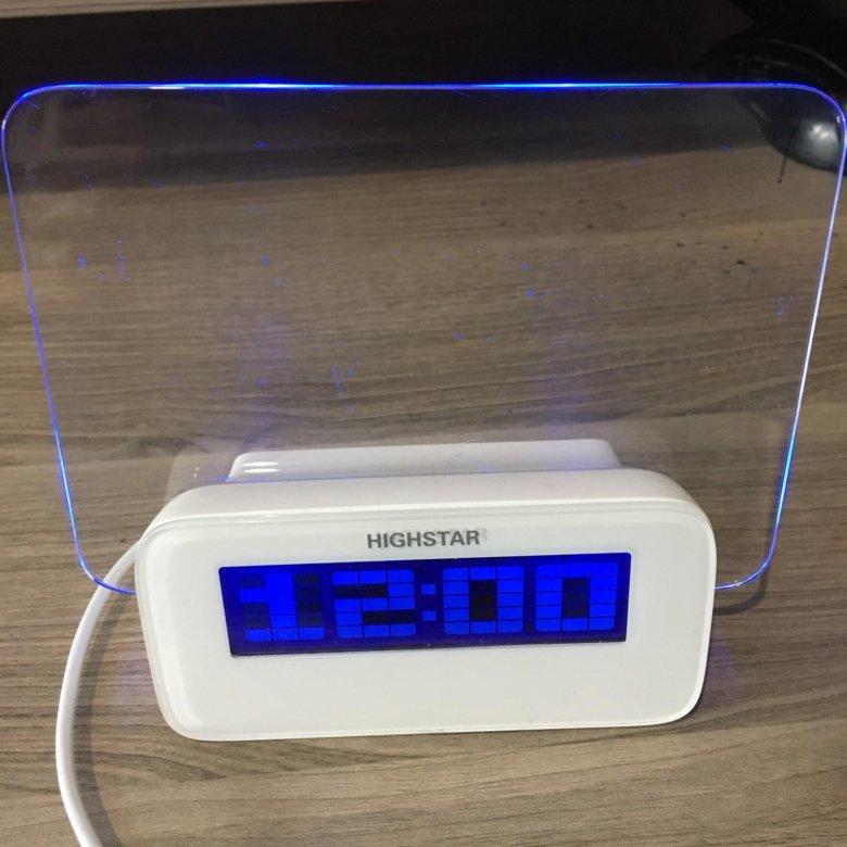 Часы-Будильник HIGHSTAR