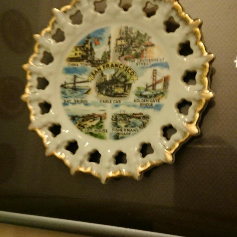Сувенирные тарелки с гоа фото