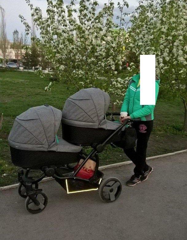 Купить коляску для двойни на юле