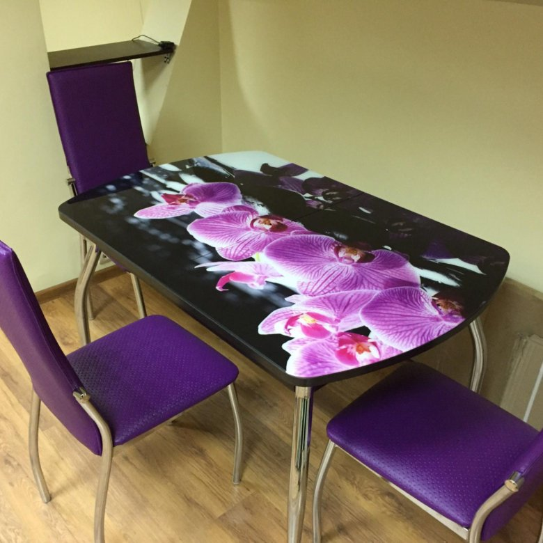 столы и стулья с фотопечатью это