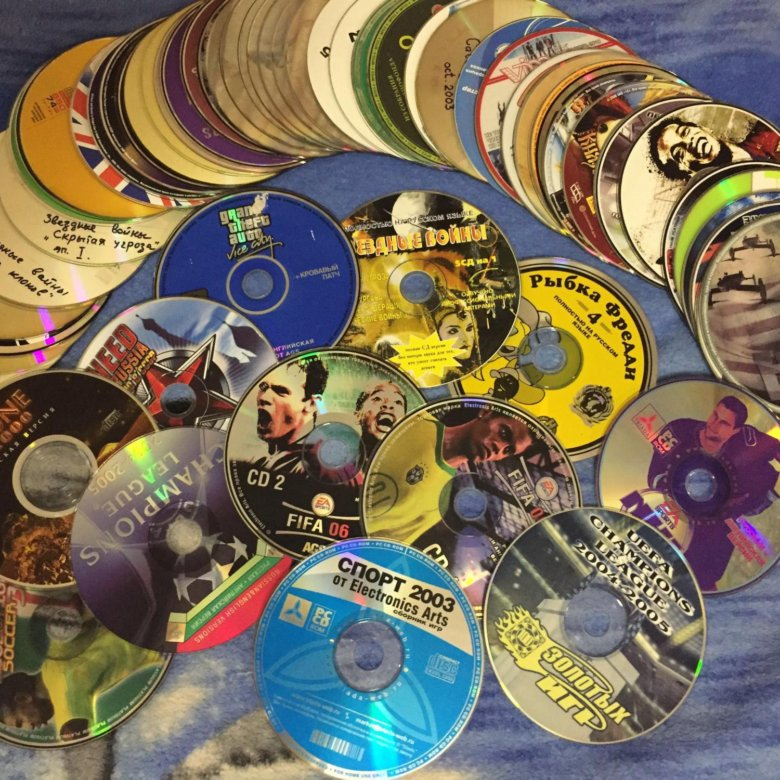 картинки с игровыми дисками свидетельствуют том, что