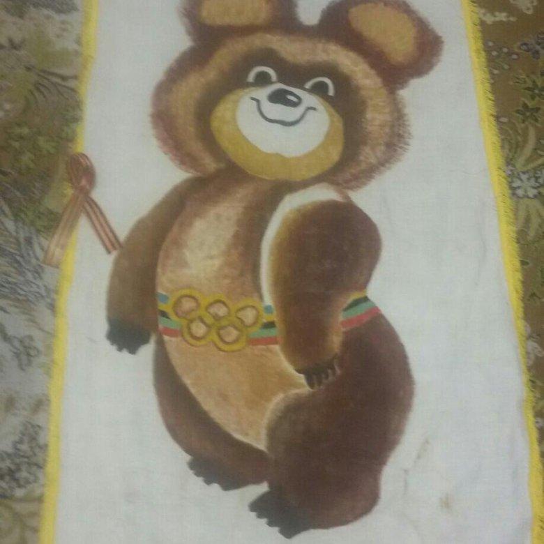 Картинки олимпийский мишка как нарисовать