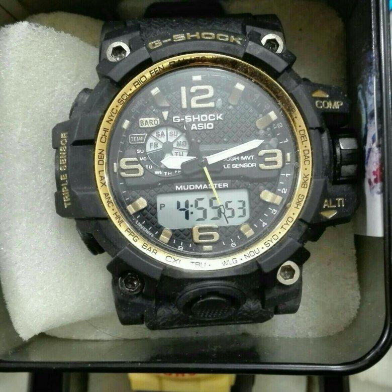 Копия часы casio g-shock gw черный (replica).