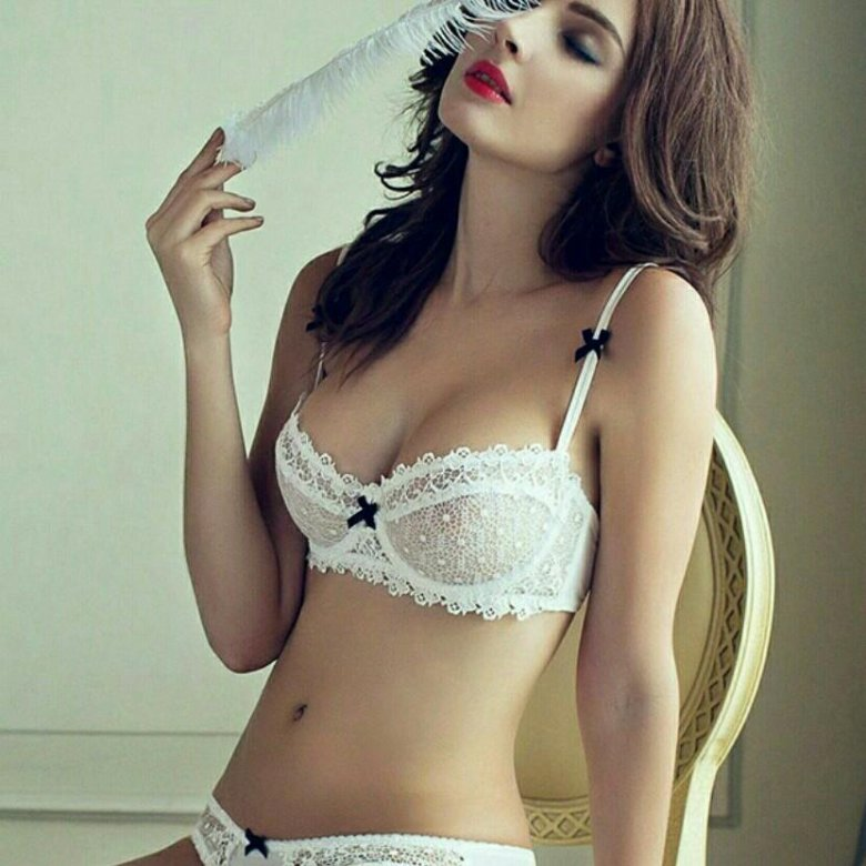 Petite ladies wearing see through lace, taking care of your vagina