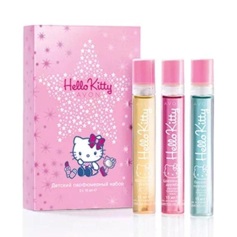 ec1ec81a0bc5 📌Детский набор Hello Kitty Avon – купить в Лыткарино, цена 350 руб.,  продано 11 декабря 2017 – Парфюмерия