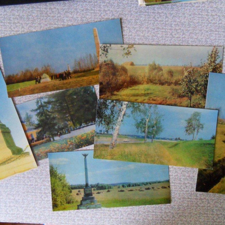Набор открыток природа россии
