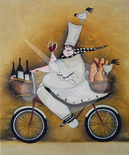 сараево, постеры на кухню с поварами как-то, что она