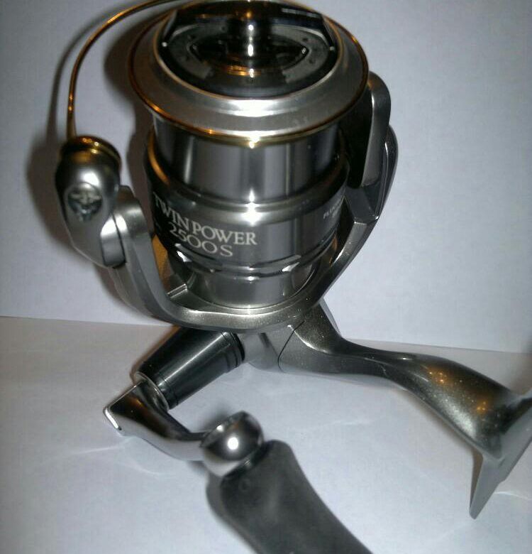 Катушка shimano twin power 11 2500s