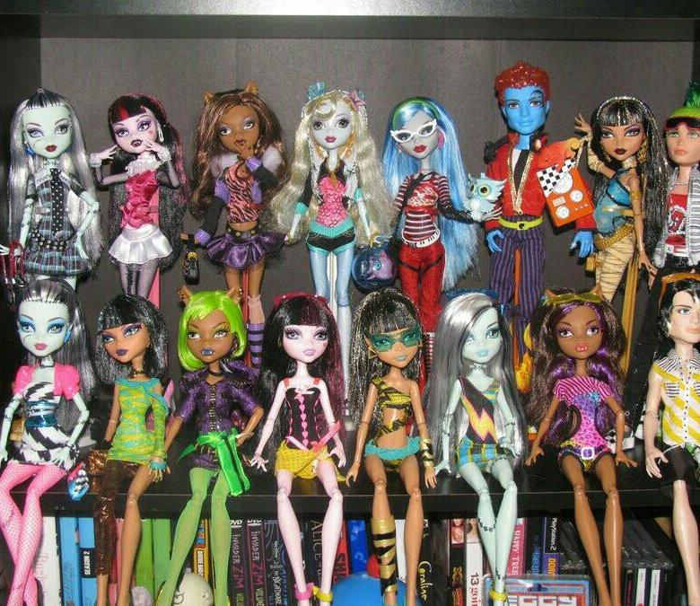 прикольные картинки монстер хай куклы