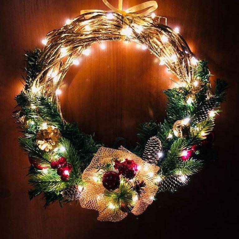 Рождественские венки красивые