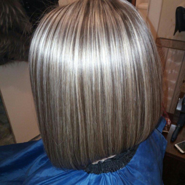 фото с мелированием волос дома