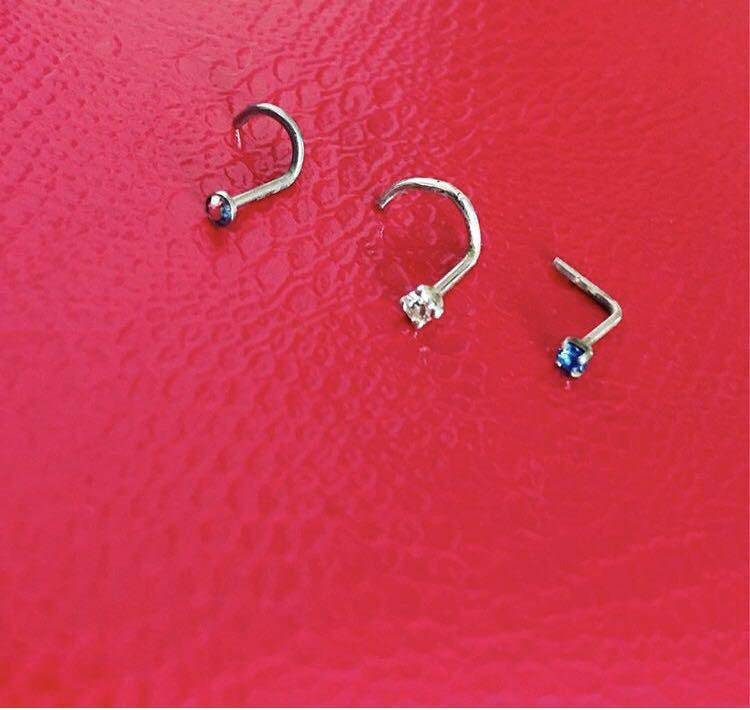 Сережка для пирсинга в нос картинки сережек
