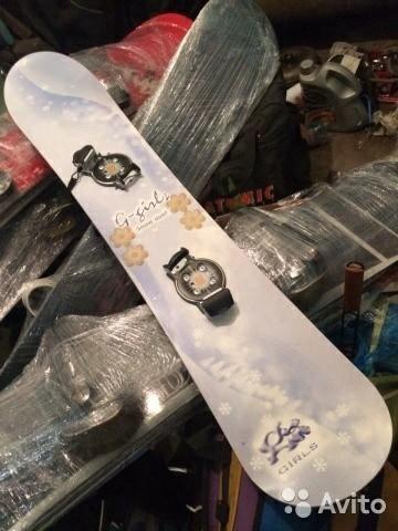 4e3b0478f852 Сноуборд 140 см – купить в Новосибирске, цена 4 500 руб., дата ...