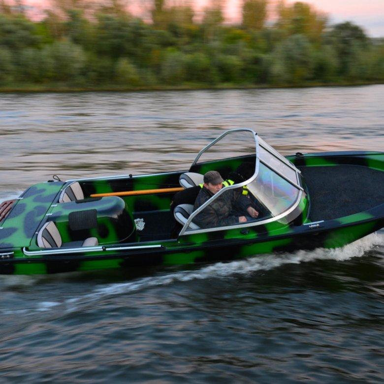 Лодка чайка видео