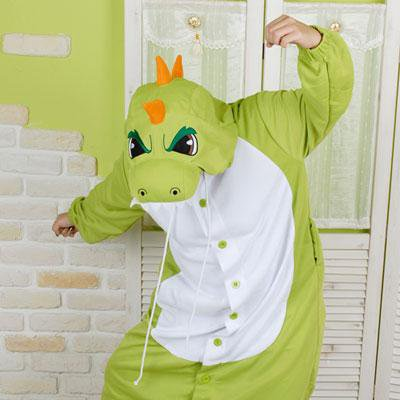 Кигуруми зеленый динозавр южная корея. Фото 1. Москва. ... 0d3fb05644095
