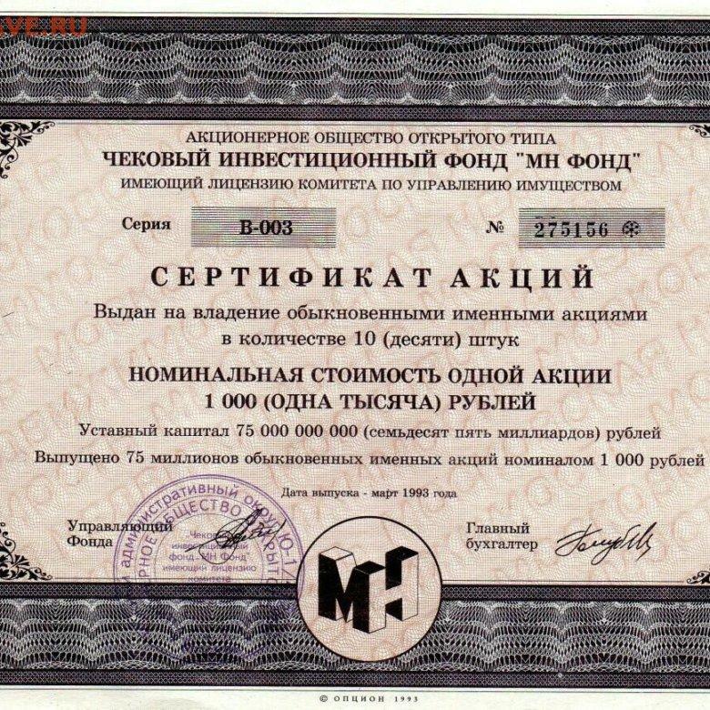 акции московская недвижимость стоимость сегодня