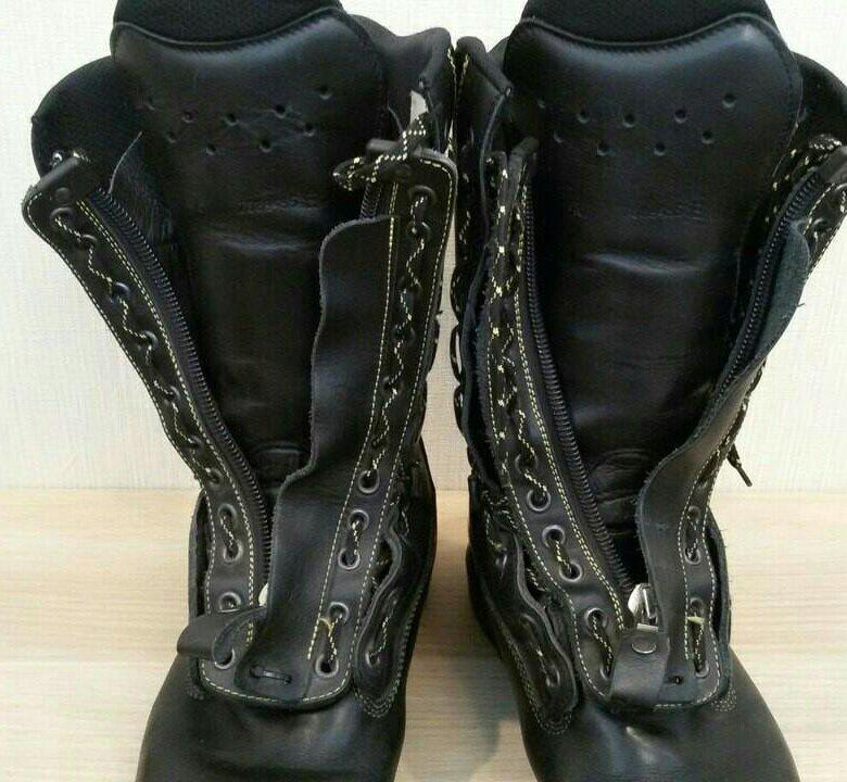 Немецкие кожаные сапоги пожарного Haix – купить в Москве 1442a9bccc87a
