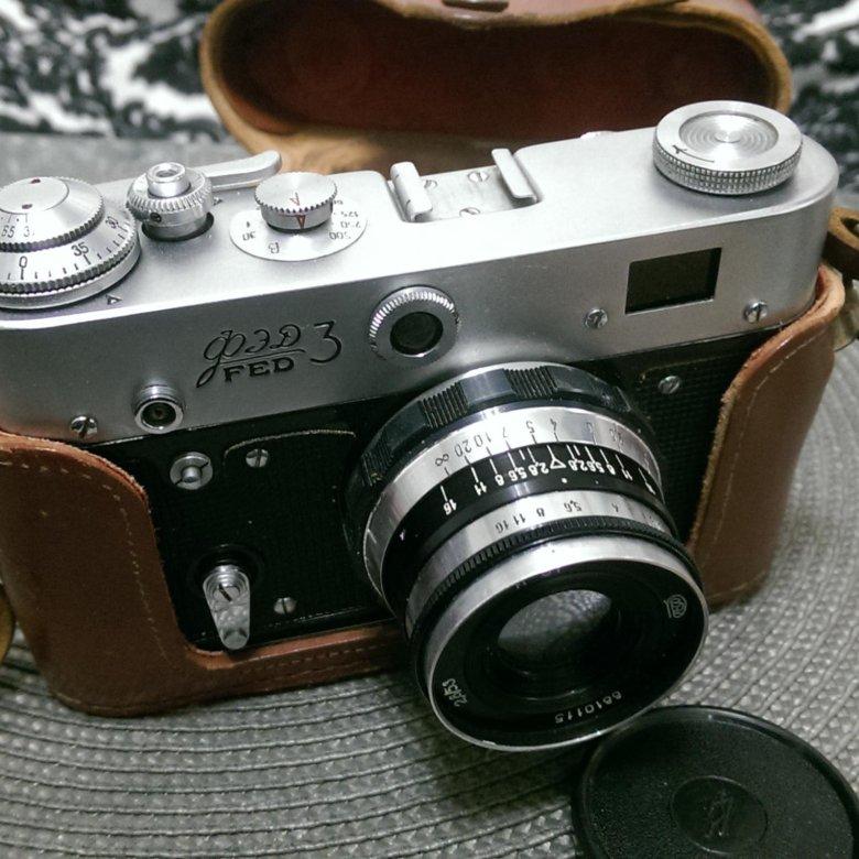 сколько стоит старый фотоаппарат фэд известная