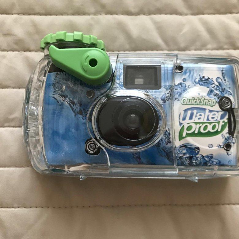 то, что фотоаппарат для подводной съемки одноразовый так