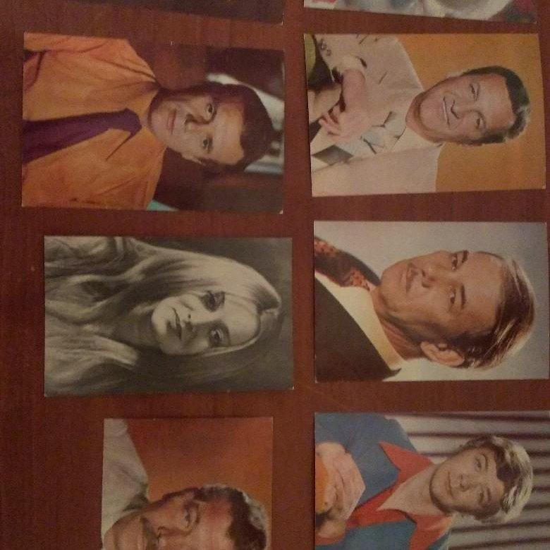 набор открыток с советскими актерами полеты космос, кажется