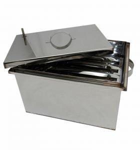 Коптильня горячего копчения из нержавейки купить цена самогонный аппарат на 1000 литров