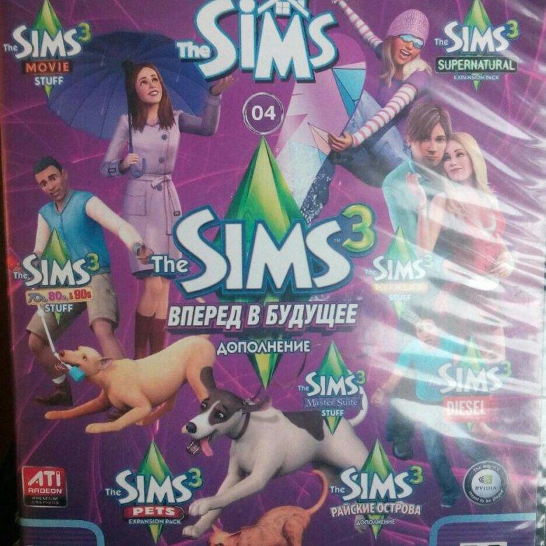 Картинки дисков игр симс