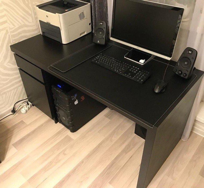 Компьютерный стол от икеа картинка