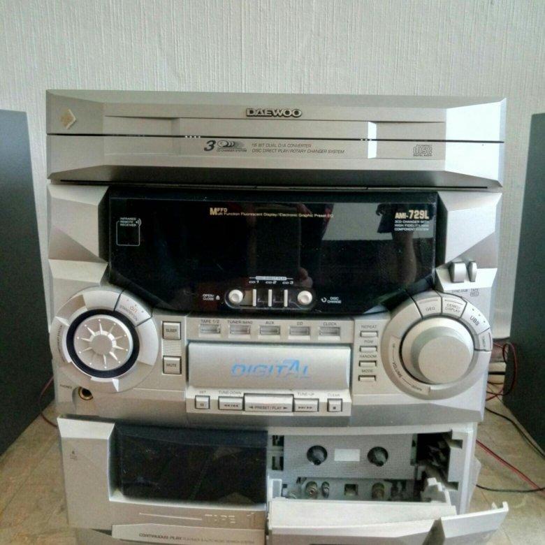 0935e79fcc77 Музыкальный агрегат Daewoo – купить в Санкт-Петербурге, цена 400 руб.,  продано 21 февраля – Музыкальные центры и магнитолы