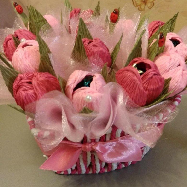 Оригинальные букеты к 8 марта хабаровск, букет цветов