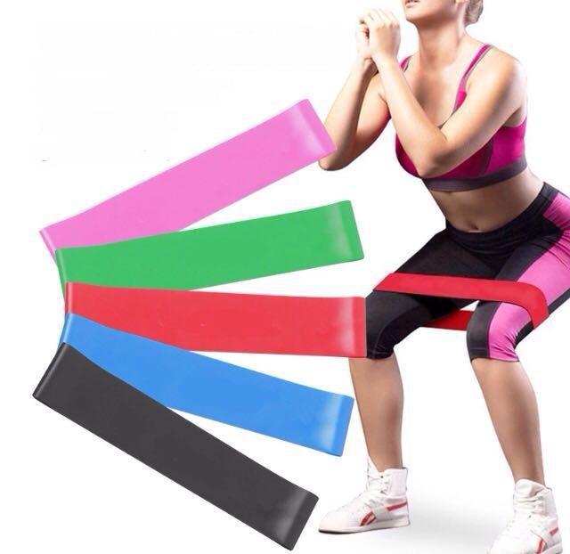 Резинки для фитнеса 5 шт. купить в Баштанці