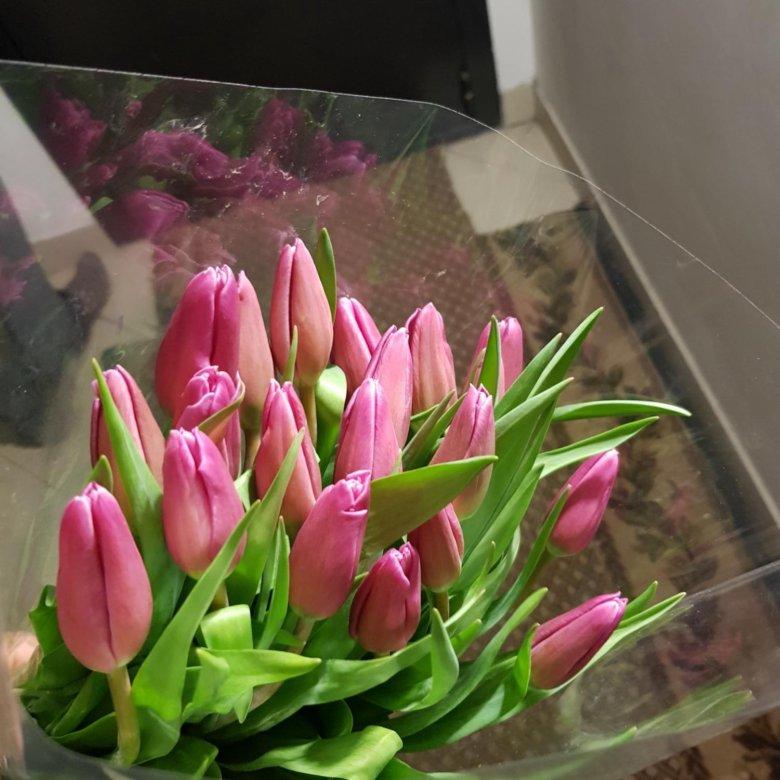 Букеты цветов, цветы тюльпаны купить в тюмени