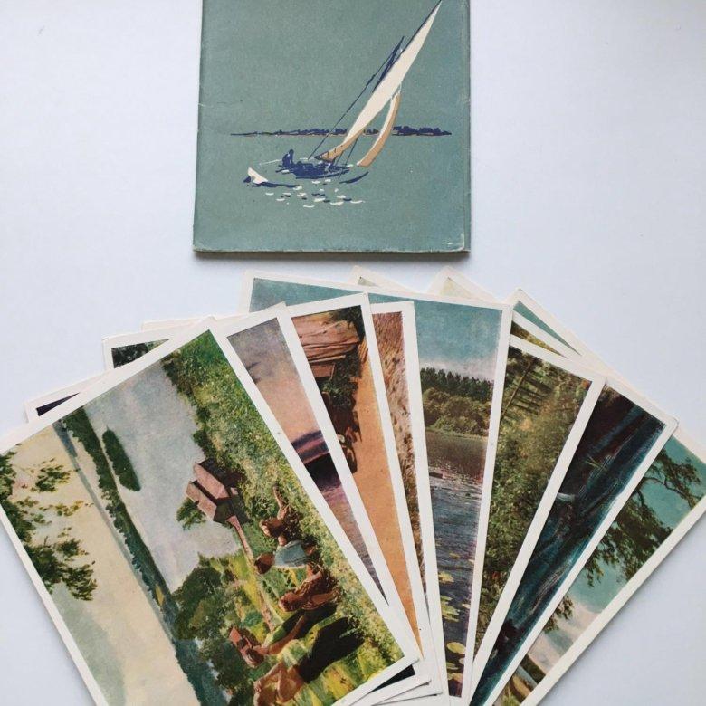 Как издать набор открыток