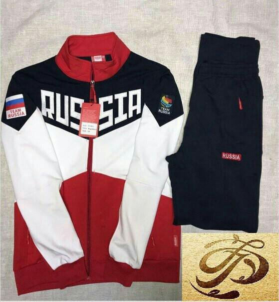 Спортивный костюм Russia Team Россия Asics Bosco – купить в ... ab07ea95745