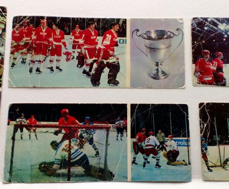 Февраля, открытки хоккеистов ссср цена