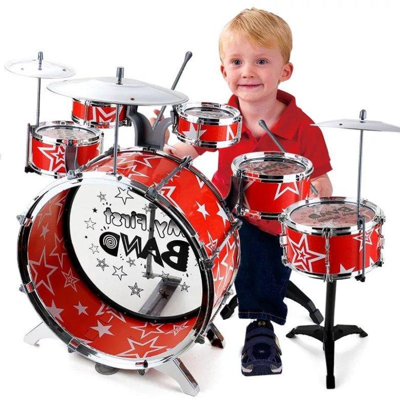 Детский мир барабанная установка детская