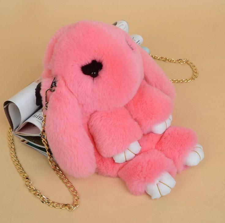 Пушистый кролик рюкзак картинка