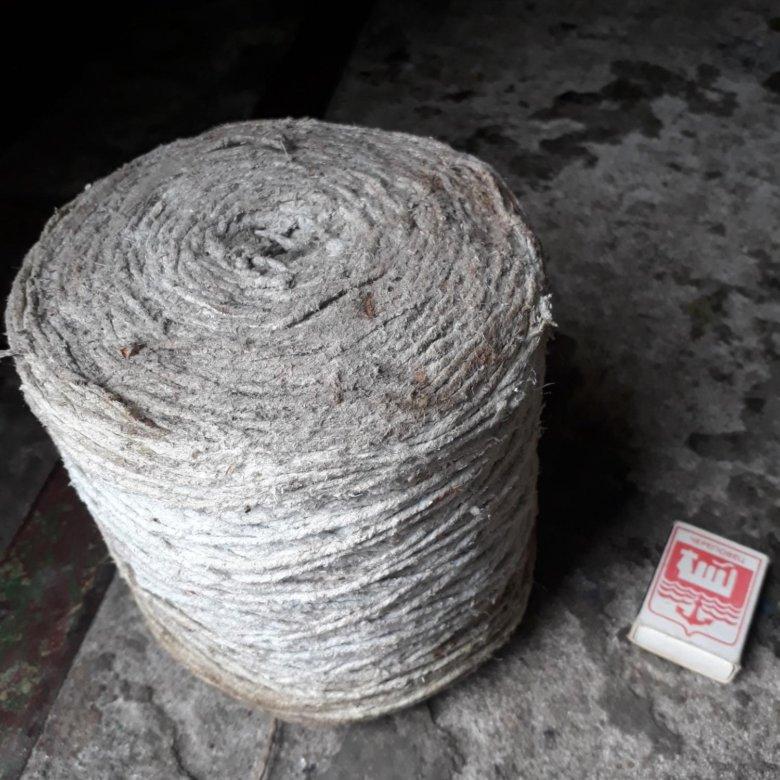 Фото асбестового шнура