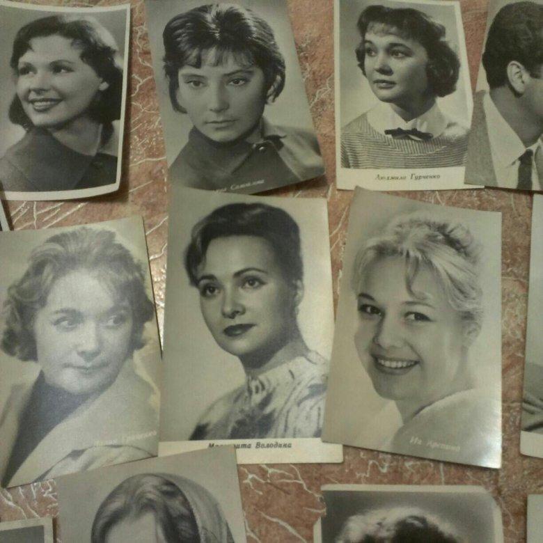 Спас, продажа старых открыток актеры