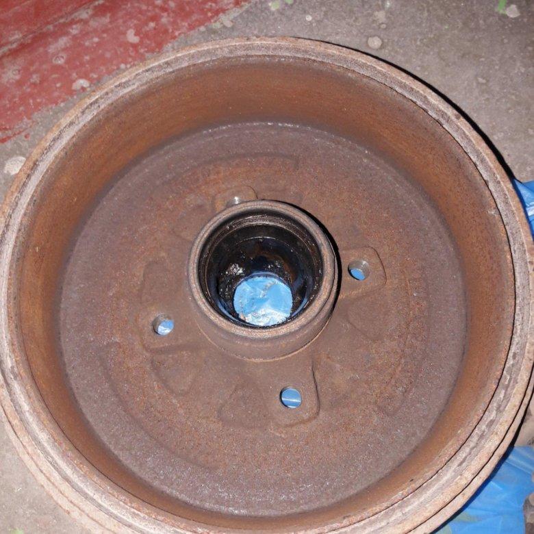 тормозной барабан шевроле ланос