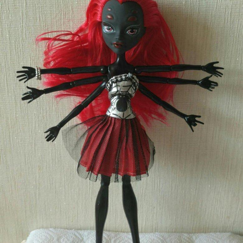 приеме кукла паук монстр хай этим проследит отдельно
