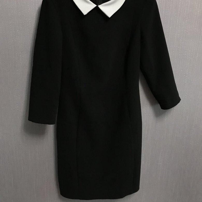 наиболее картинка черное платье с белым воротником такие конверты