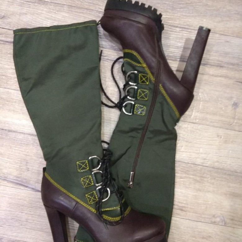 053ff0bcc68b82 Сапоги luciano carvari новые – купить в Уфе, цена 1 500 руб., продано 5  января – Обувь
