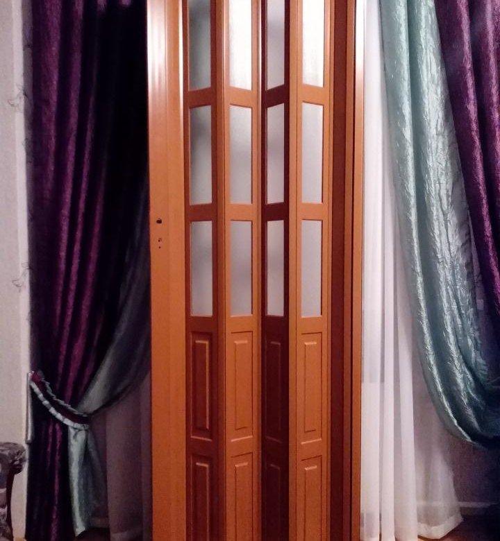 пластиковые двери гармошка фото упрощенный