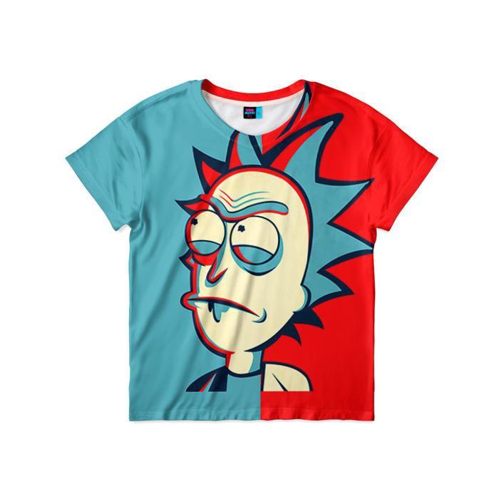 Рик и морти крутые картинки на футболку
