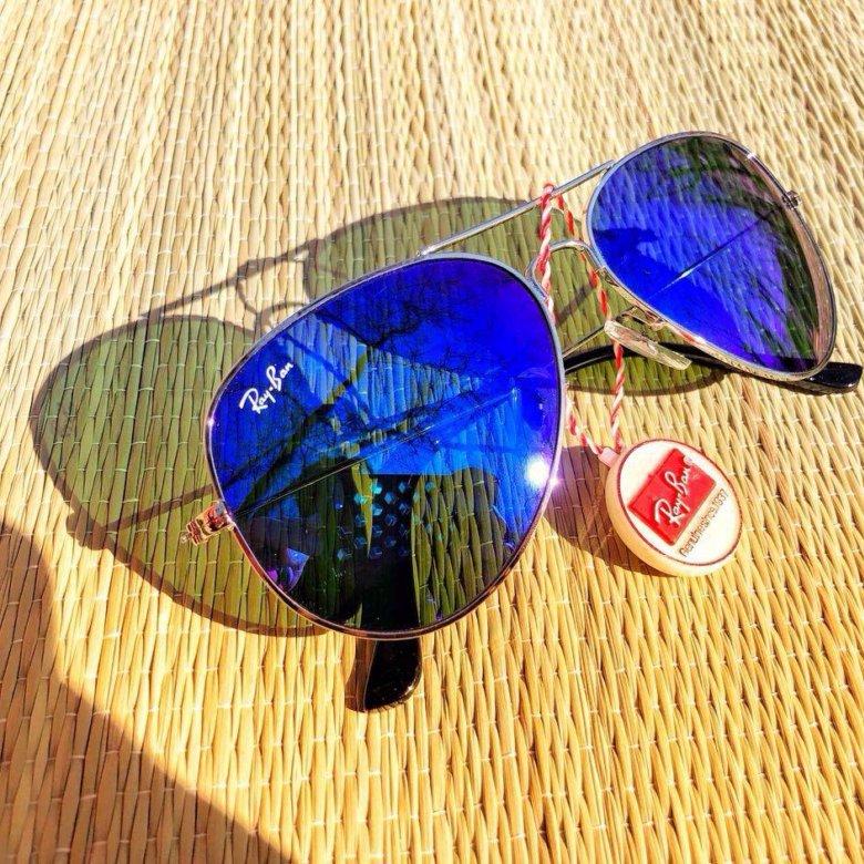 Синие очки Ray Ban – купить в Москве 068ea6cc3a0d9